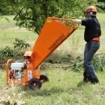 Broyeurs de branches et de végétaux compacts TIMBERWOLF
