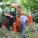 Broyeurs de branches et de végétaux pour tracteurs