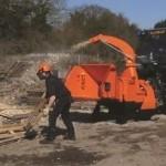 Broyeur de branches TIMBERWOLF TW PTO S426 pour tracteurs