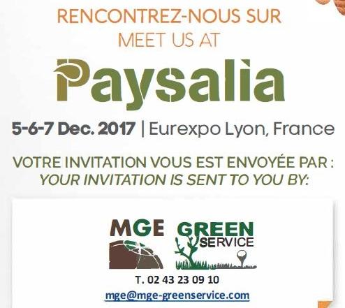 MGE Greenservice à PAYSALIA