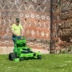 MEAN GREEN STALKER electric battery powered mower