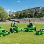 MEAN GREEN electric battery powered mowers