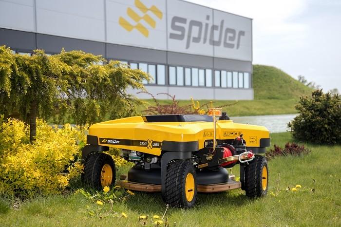 Tondeuse radiocommandée SPIDER CROSS LINER